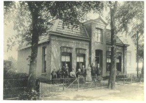 Hofman family home in The Netherlands, 1907