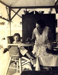 Henriette and Drethe Kuneman, Java, 1931.
