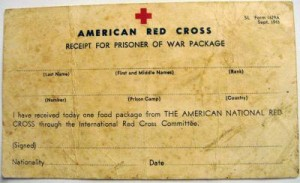 14. Red Cross Receipt for POW package (1)