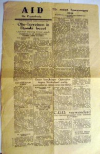 29. A.I.D. newspaper front page 1948