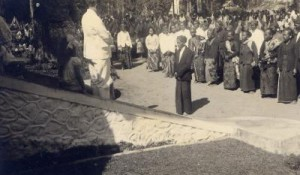 Jan Kuneman on the Badek Estate, Java, 1930s.