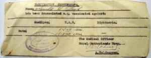42-Arnold Drok-vaccination certificate-1947