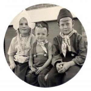43-Arnold & Erwin Drok & Nannette Harvey-1949