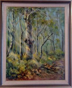 49-Kitty Drok-Australian bush oil painting_0