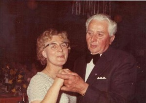 Silvia and Bob at a Local Dance, circa 1980