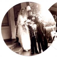 Dirk in full military uniform on his marriage to Kitty, April 1941 - 2