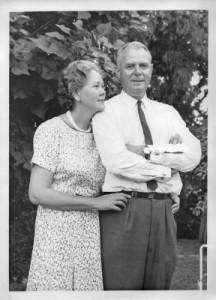 Dirk and Kitty Drok in the late 1950s