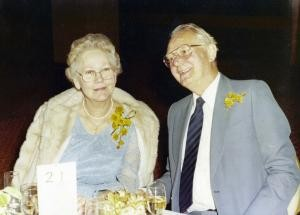 1980s photo of Dirk and Kitty Drok
