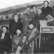 Herweynen Family - boarding KLM