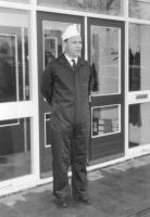 John at work at Mars 1962