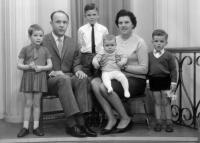 The Giezen family in Veghel, The Netherlands