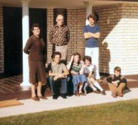 The Giezen family in Ballarat 1978