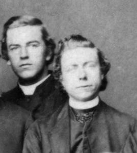Theodore Bongaerts (left) and Charles van der Heijden (right). Photo courtesy of Adelaide Catholic Archdiocesan Archives ©