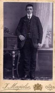 Johannes Butler, 1912