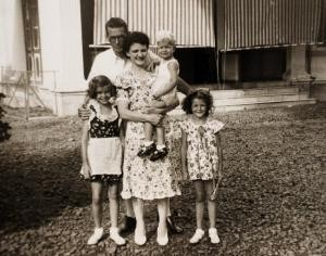 A family photo showing Anton's mother Elizabeth in 1939. Like all other people interned in POW camps, there are no photos of life between 1942 and 1945.