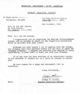 Migrant Education Letter